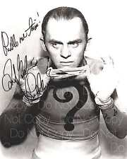 Frank Garshin signed Batman Riddler 8X10 photo picture poster autograph RP