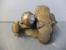 Uraltes Tür- bzw. Schrankschloss mit Schlüssel, Eisen, wohl 18. Jhd.