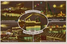 SOUTHEND-ON-SEA (Essex ) :  ILLUMINATIONS  Multiview  RP