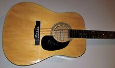 SUNNY SWEENEY Signed Acoustic Guitar From a Table Away Drink Myself Single w/COA