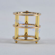1pc Gold Tube Guard Protector Brass ECC82 ECC83 12AX7 12AT7 6922 6DJ8 Valve DIY