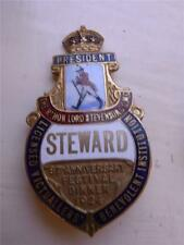 1922 Licensed Victuallers 95th Anniversary Festival Dinner Stewards Pin Badge Breweriana, Beer Pins
