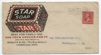 1899 Zanesville Ohio Star soap color ad cover with Hampden machine [y4028]