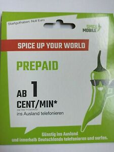 0163 X 06 06 06. Speice Mobile Prepaid Karte.
