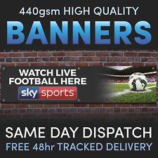 Sky Sports LIVE FOOTBALL Vinyl Banner - Advertising Pubs / Bars / Social Club