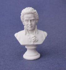 Miniature Dollhouse Mozart Statue Bust 1:12 Scale New