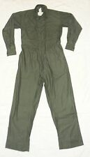 Point Blank Men's Military Coveralls Cotton/Sateen Green Size Small BRAND NEW