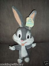BABY LOONEY TUNES BABY BUGS BUNNY PLUSH DOLL FIGURE WITH HANG TAG