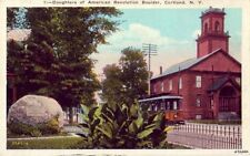 CORTLAND, NY DAUGHTERS OF AMERICAN REVOLUTION BOULDER pub. BY Wm JUBB CO. INC.