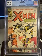 X-Men #1 CGC 7.5 VINTAGE Marvel MCU 1st X-men Team, Professor X & Magneto 🔥