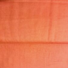 Natural Charm Dark Orange Solid Broadcloth 100% Cotton Fabric by the Yard