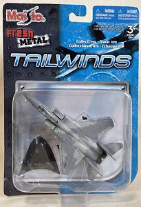 Maisto Tailwinds F-15 Eagle - 2007 Fresh Metal USAF Plane Aircraft Jet