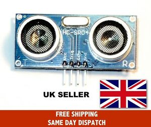 Ultrasonic Range Finder HC-SR04 Distance Measuring Sensor Arduino, UK Seller