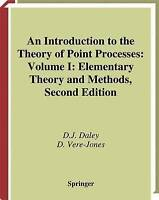 An Introduction to the Theory of Point Processes. Volume I: Elementary Theory an