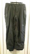 Columbia Men's Titanium Insulated Waterproof Ski Pants, XL, Black, New