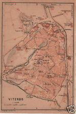 LAZIO_VITERBO_INTERESSANTE MAPPA TOPOGRAFICA_1904_DA COLLEZIONE_D'EPOCA