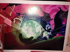 Botcon 2014 Transformers Mlp My Little Pony Megatron Nightmare Moon Lithograph