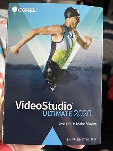 NEW Corel VideoStudio Ultimate 2020RETAIL SEALED BOX.