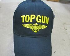TOP GUN FIGHTER WEAPONS SCHOOL HAT Movie Naval Aviator Squadron Patch Image