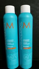 2 X  MOROCCANOIL Luminous Hairspray FINISH STRONG 10 oz ea