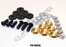 "Floor Pan ""American"" Hardware Kit (Gold), Dirt Kart, 4 Cycle, Go Kart Racing"