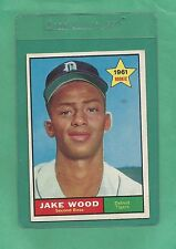 1961 Topps Detroit Tigers Jake Wood # 514 NM+ Low Pop !!!!