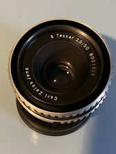 Carl Zeiss Jena 50mm 2.8 Tessar Lens (Zebra) M-42 Screw Mount Excellent
