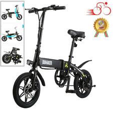 LED Bicicletta Elettrica, Bici Pieghevole Batteria al Litio 250W Motore 25km /h