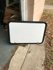 """RV/Trailer Cargo Door / Access Door. White, 36""""X24"""", With Lock & Keys, #130F"""