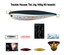 TACKLE HOUSE Tai Jig 100g / 80mm #3/ 1 x pk DECOY DJ-88 /1/0 assist hooks as pic