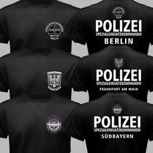 German State Police SWAT Force SEK Spezialeinsatzkommando Polizei Berlin T-shirt