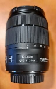 Canon 18-135 USM EF-S lens with auto zoom function, Mint condition