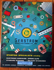 Seastrom Manufacturing Co. Engineering/Equipment Catalog 1965 Stamping Vintage