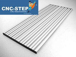 T-Nutenplatte mit Untergestell aus Aluminium für High-Z S-400/T CNC Fräsmaschine
