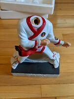 Vintage Elvis Karate Large McCormick Whiskey Decanter Music Box Elvis Presley