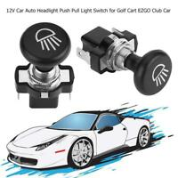 12V Car Auto Headlight Push Pull Light Switch for Golf Cart EZGO Club Car Yamah