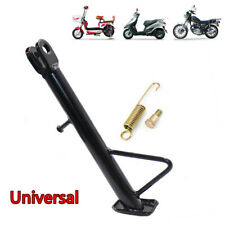 Adjustable Universal Motorcycle Scooter Kickstand Side Stand Leg Prop Aluminum