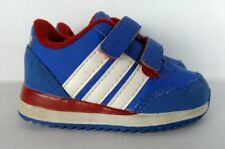 ** ADIDAS NEO red white blue toddler boy sz 3 shoes