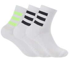 adidas Cushion Crew Socks 3PP Tennis Running Badminton Soccer Yoga NWT GE1376