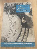 Old Vintage The Model Railroader Magazine October 1939 Vol 6 No 10 Plans Train