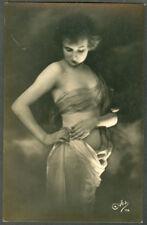 OLD REAL PHOTO  NUDE FEMALE  NUDE POSTCARD # 12