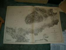 Vintage Admiralty Chart 2771 SCOTLAND - LOCH SCRIDIAN 1861 edn