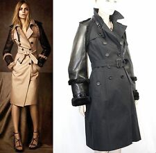 $4,995 Burberry Prorsum 8 10 42 LIMITED Regent Street Trench Leather Shearling