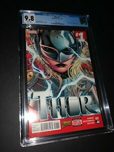 Thor #1 CGC 9.8 1st Appearance Jane Foster as Thor (017)