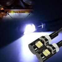 F58B White LED Universal Motorcycle Car License Plate Screw Light Lamp Bulb