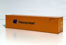 """WSI TRUCK MODELS, 40FT CONTAINER """"Hapag Lloyd"""""""