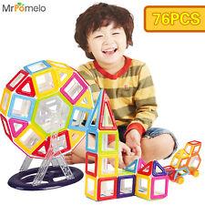 76PCS Ferris Wheel Box Set Mini Magnetic Designer Building Blocks Toys For Kids