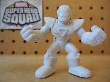 Marvel Super Hero Squad RARE TEST SHOT White Blank IRON MAN / CENTURION