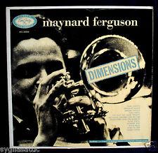 MAYNARD FERGUSON-DIMENSIONS-Nice Early Pressing From 1956 -EMARCY #MG-36044 mono