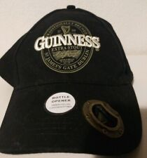 Guinness Extra Stout Beer Hat w Bottle Opener w tags